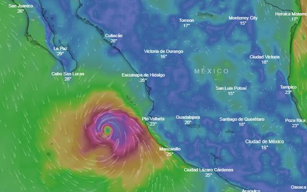 Sectur pide extremar precauciones ante huracán 'Willa'