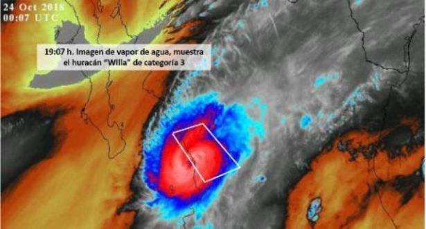 ( EN VIVO) Huracán se aproxima a costa Sinaloa y Escuinapa