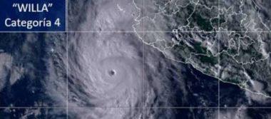 (Enterate aquí) Todo sobre el Huracán Willa por su paso por Sinaloa