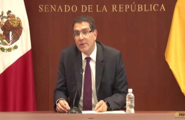 Senador Ríos Piter pregunta a Agustín Basabe ¿Cómo evitar otro caso Abarca en el PRD?