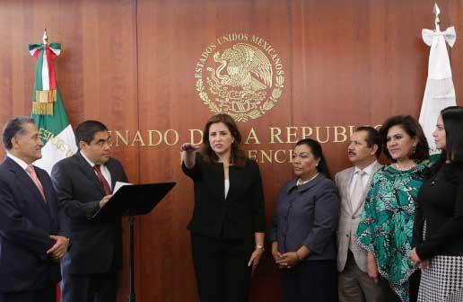 Busca la senadora Martha Tagle Martínez no integrarse a ningún grupo parlamentario