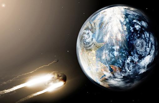 La tierra se encuentra amenazada por meteoritos, ráfagas solares y exoplanetas