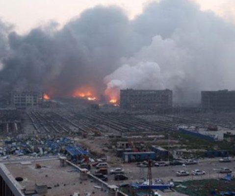 Suman 150 muertos y 23 desaparecidos por explosiones en Tianjin