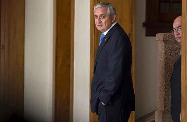 Otto Pérez reitera que no dimitirá a la presidencia de Guatemala