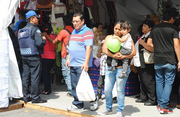 Finalizó sin incidentes la segunda feria de culturas indígenas en el Zócalo