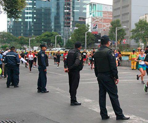 Muere durante el maratón de la Ciudad de México