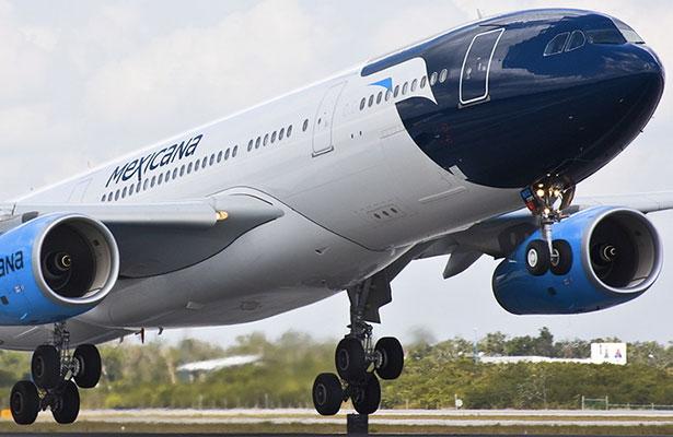 """La marca """"Mexicana de Aviación"""" parte de los activos de Mexicana de Aviación"""