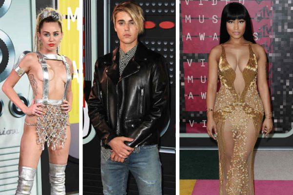 Kanye West y Miley Cyrus marcan los MTV Video Music Awards