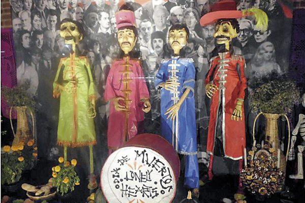 En recuerdo de THE BEATLES-Museo Soumaya