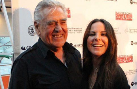 Eric del Castillo y su hija Kate.