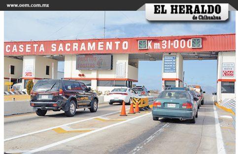 La Caseta Sacramento, una de las principales salidas por las que cruzan los paisanos que viven en la frontera con Estados Unidos.
