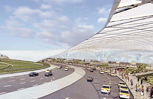 Al final de este año se observarán avances definitivos en la construcción del nuevo aeropuerto.