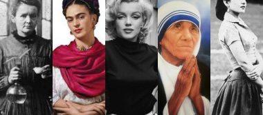 Ellas son algunas mujeres que dejaron huella en la historia