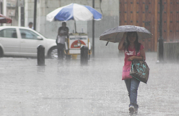 Se mantiene potencial de lluvias en la mayor parte del país