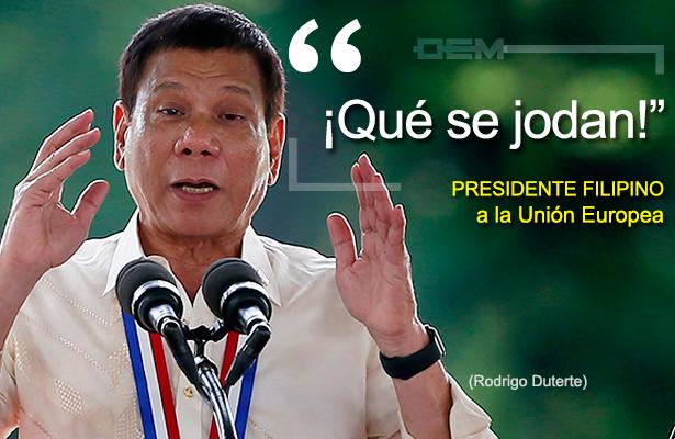 Resultado de imagen de Rodrigo Duterte