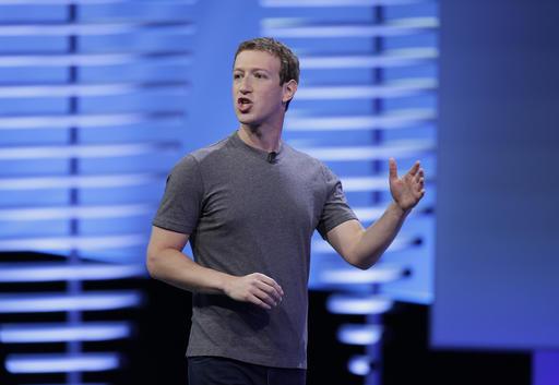 Mark Zuckerberg. Foto: AP