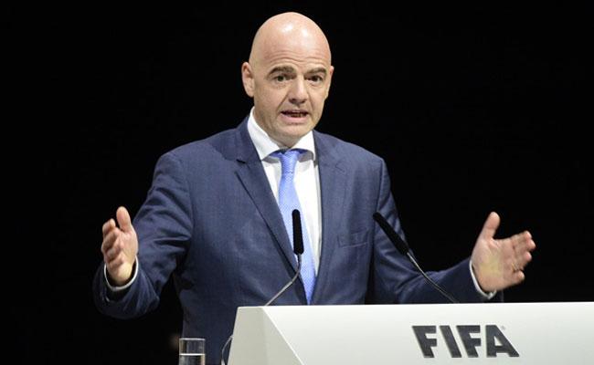 Gianni Infantino, dirigente de la FIFA. Foto: AFP