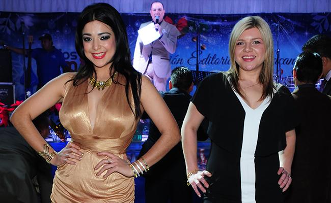 """Vanessa Galindo """"Miss Pacífico"""" Y la cantante rusa Liya Bespalova amadrinaron el sorteo."""