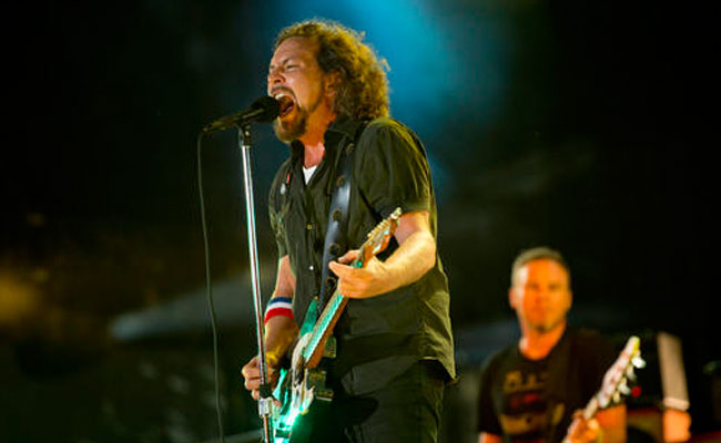 Pearl Jam. Foto: AP