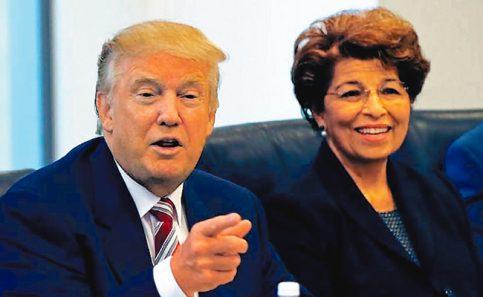 Donald Trump considera a Jovita Carranza para liderar la Oficina del Representante de Comercio Exterior de EU.