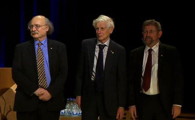 Los ganadores del premio Nobel de Física. Foto: Premio Nobel