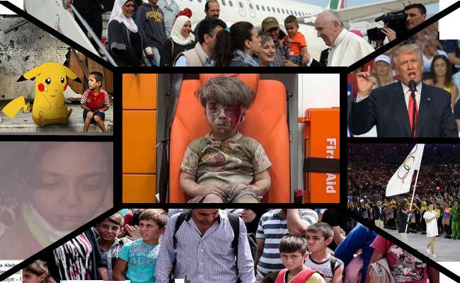 La crisis de refugiados que comenzó el año pasado no terminó en 2016 y al parecer tampoco mejoró del todo Foto: Especial