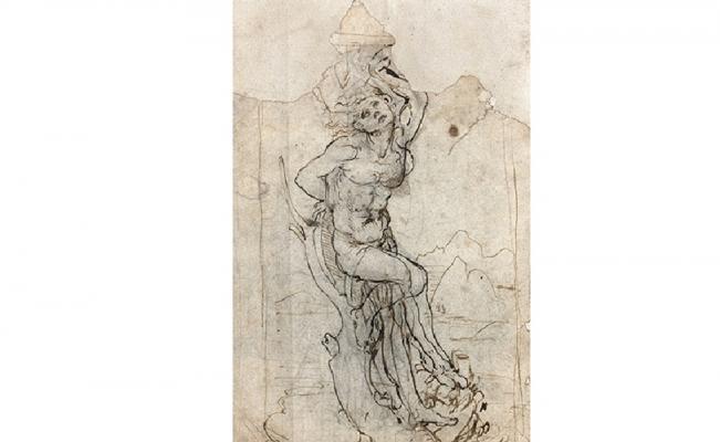 Casa de subastas francesa halla por sorpresa dibujo de Da Vinci. Foto: Tajan