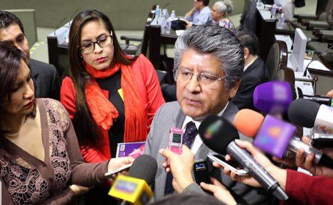 El presidente de la Junta de Coordinación Política (Jucopo) de la Cámara de Diputados, Francisco Martínez Neri,
