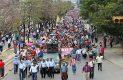 Continúan las protestas contra reformas y gasolinazo. Foto; El Heraldo de Chiapas