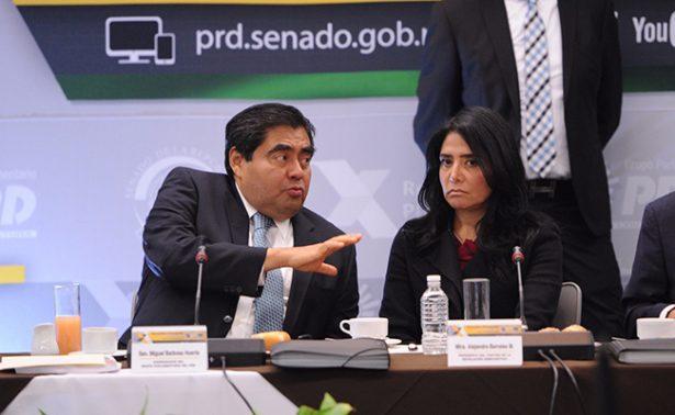 Descarta Alejandra Barrales desaparición del PRD en el Senado