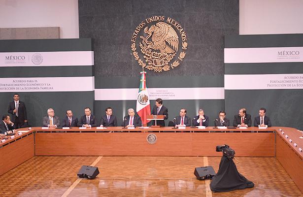Responsabilidad y unidad, claves en horas de desafío: Peña Nieto