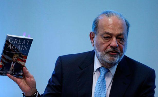 El mejor muro son las inversiones y empleos para México: Carlos Slim