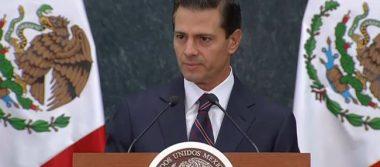 Anuncia Peña Nieto que garantizará derecho a la educación de deportados