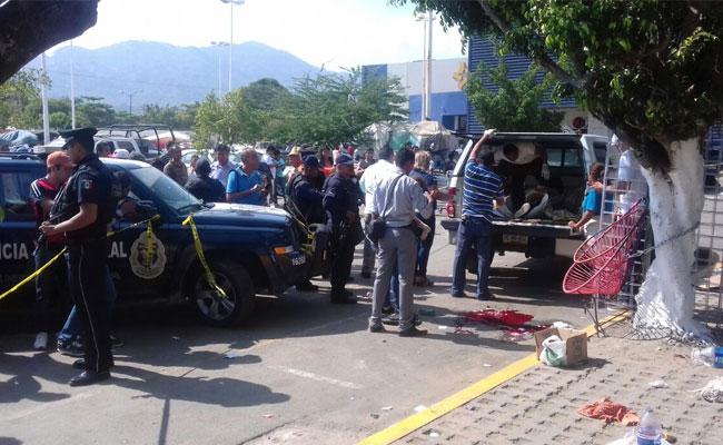 Balacera en tianguis de Acapulco deja seis muertos