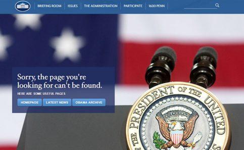 La Casa Blanca elimina la versión en español de su página web