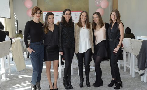 GALIA KATZ, Andrea Echegoyan, Sofia Siero, Guadalupe Ubarth, Ana Isabel Irazabal y Paola Reiner.