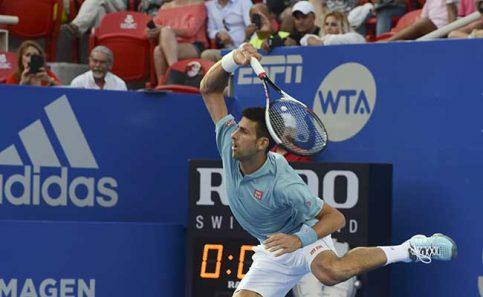 El serbio Novak Djokovic, una de las atracciones del torneo.
