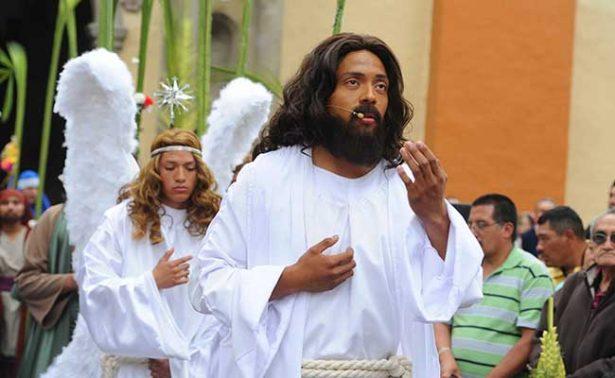 """Pese a """"falso Mesías"""", representación de la Pasión de Cristo en Iztapalapa está lista"""