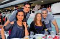 ANA KAREN Quiroz, Víctor López, Harissa Hand y Alain Lavoignet.