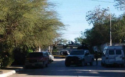 Enfrentamiento entre delincuentes y federales deja 3 muertos. Foto: El Sol de Tamaulipas