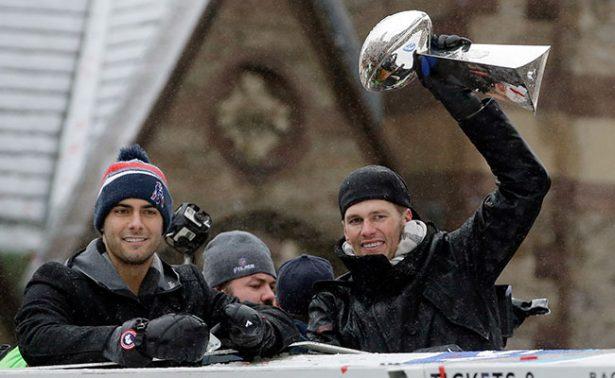 Patriotas de Nueva Inglaterra celebran Super Bowl con desfile