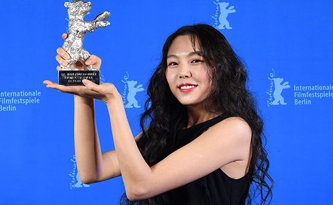 Mejor actriz, la coreana Kim Minhee. Foto: AP