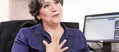 Presenta Delfina Gómez equipo de campaña