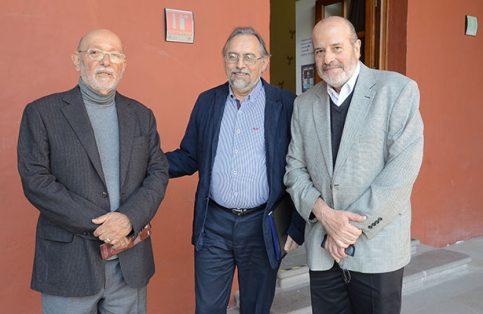 EDUARDO MATOS, Cuauhtémoc Velasco y Carlos González.