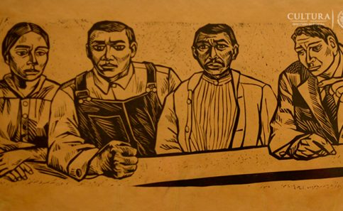Expresiones artísticas de la primera Constitución de la República mexicana.