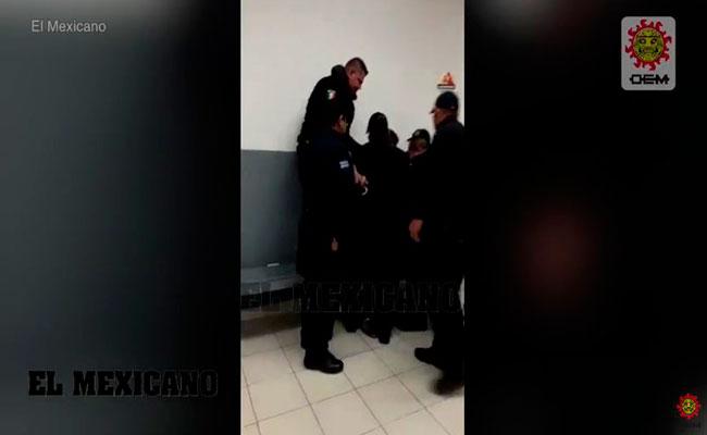 El hombre fue detenido por conducir intoxicado y en posesión de un arma de fuego. Foto: Video