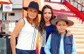 CELINA TORRES, Karla Mac-Lean y Rafael Guerra.
