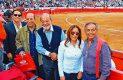 DEREN GOÑI, Patrick y Carlos Slim con Isabel Rojo y Daniel Goñi.