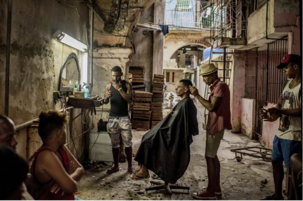 1er lugar: Cuba on the Edge of Change. Tomas Munita.