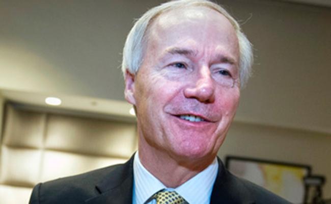 El republicano Asa Hutchinson. Foto: AP